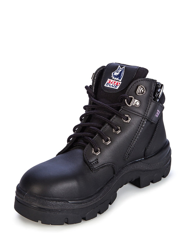 Parkes Ladies Safety Boot - Black