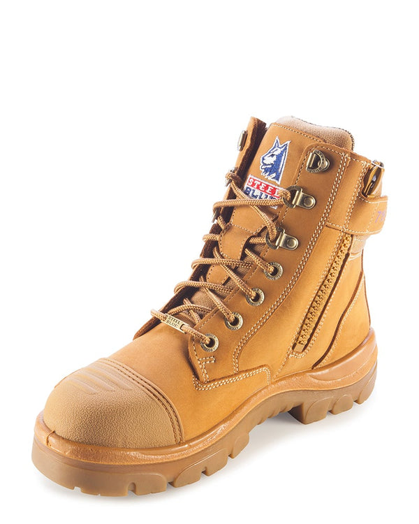 Ladies Southern Cross Zip Side with Scuff Cap - Wheat
