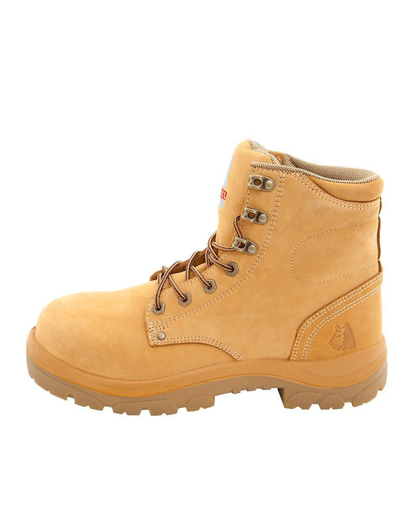 Argyle Lace Up Safety Boot Nitrile Sole size 15 and 16 only - Wheat