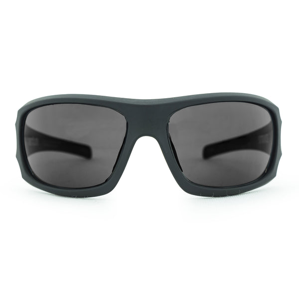 Strike Safety Sunglasses - Matt Black/Smoke