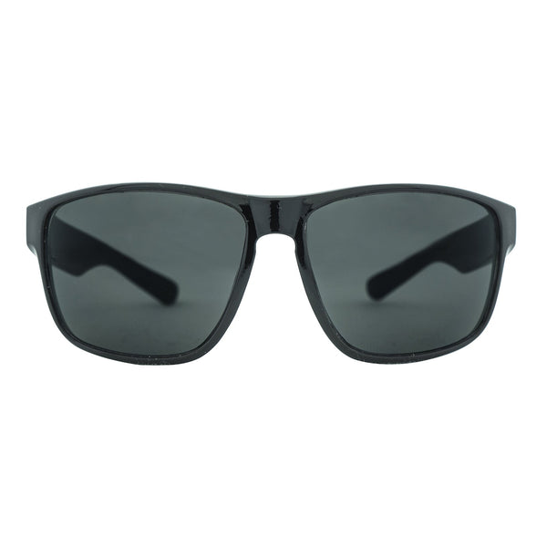 Summit Polarised Sunglasses - Black/Smoke