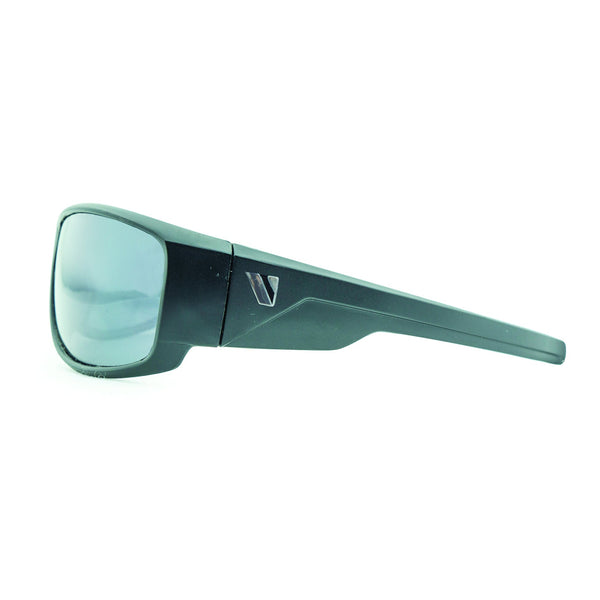 Hammer Safety Sunglasses - Matt Black/Smoke