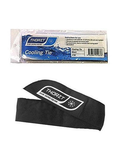 Cooling Neck Tie - Black