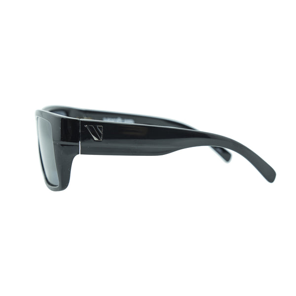 Transfer Polarised Sunglasses - Black/Smoke