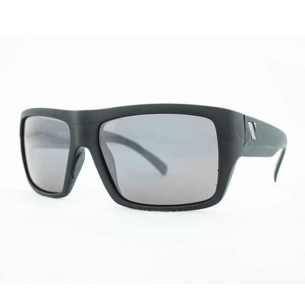 Transfer Polarised Sunglasses - Matt Black/Smoke Flash Mirror