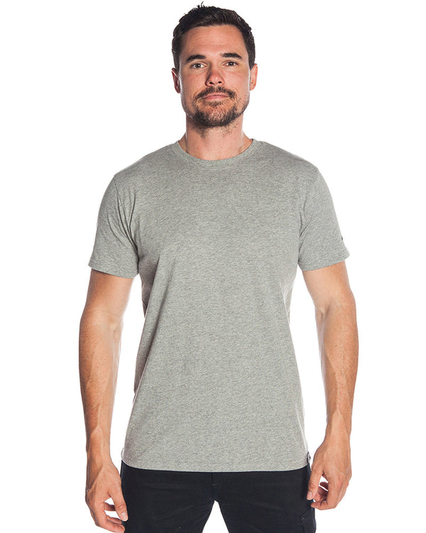 Maintain Tee - Grey Marle