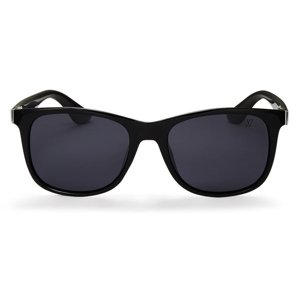 Aiden In Black And Grey Polarised - Black