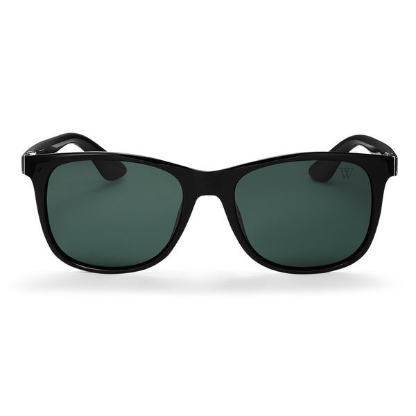 Aiden In Black And Green Polarised - Black/Green
