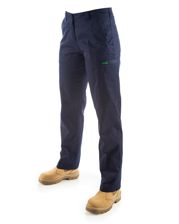 Womens Cargo Pants (2 Pack) - Navy