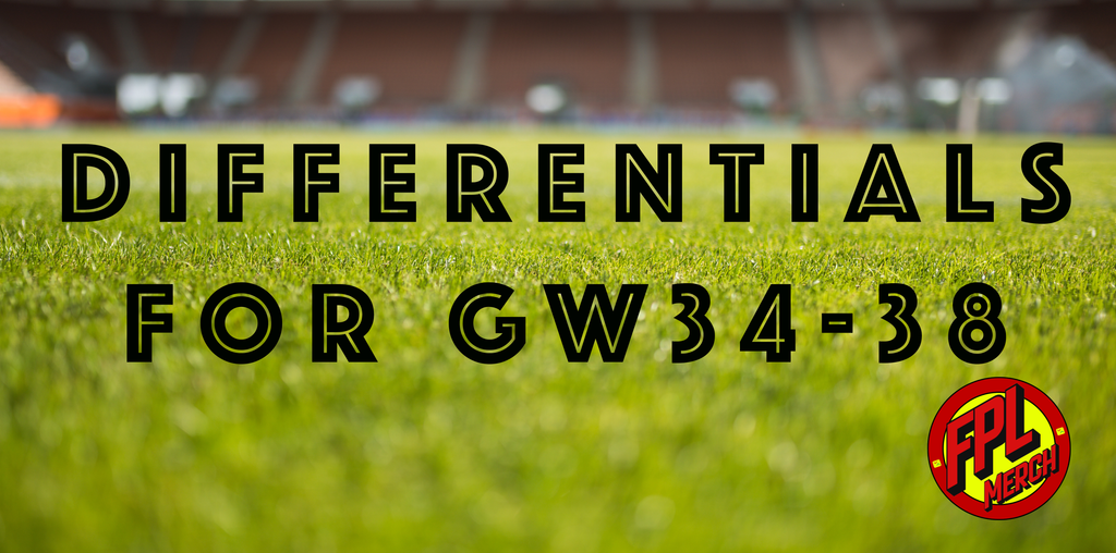 The Best FPL Differentials for GW34-38