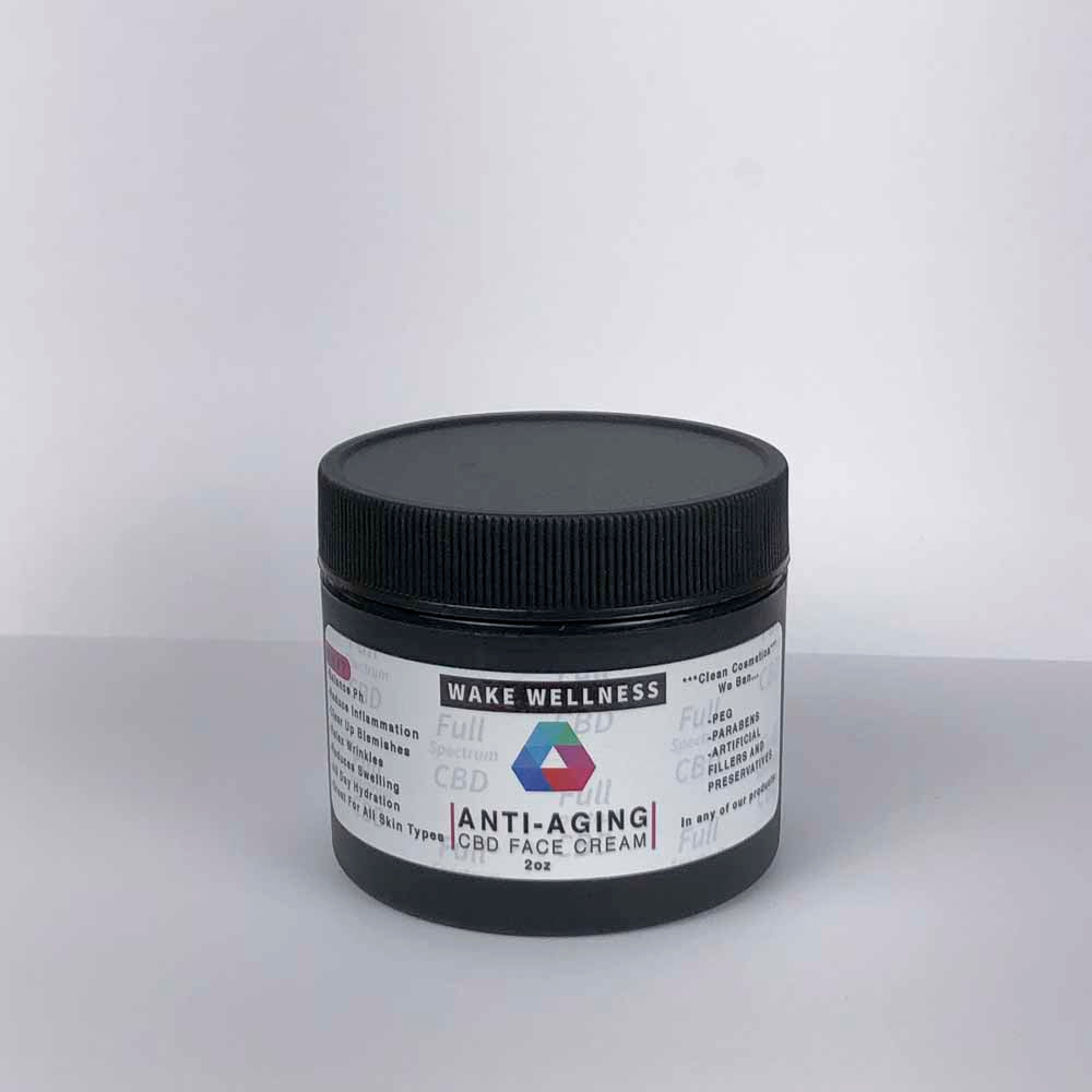 Anti-aging CBD Face Cream (Jar)