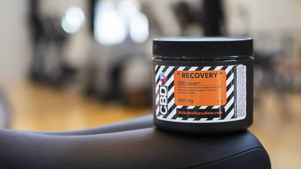 "600mg ""Recovery"" CBD Cream"