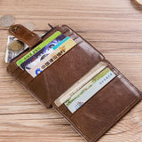 RFID Antimagnetic Genuine Leather Wallet and Card Holder for Men