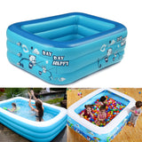 Fun Inflatable Swimming Pool 120cm 3 Layers Thick