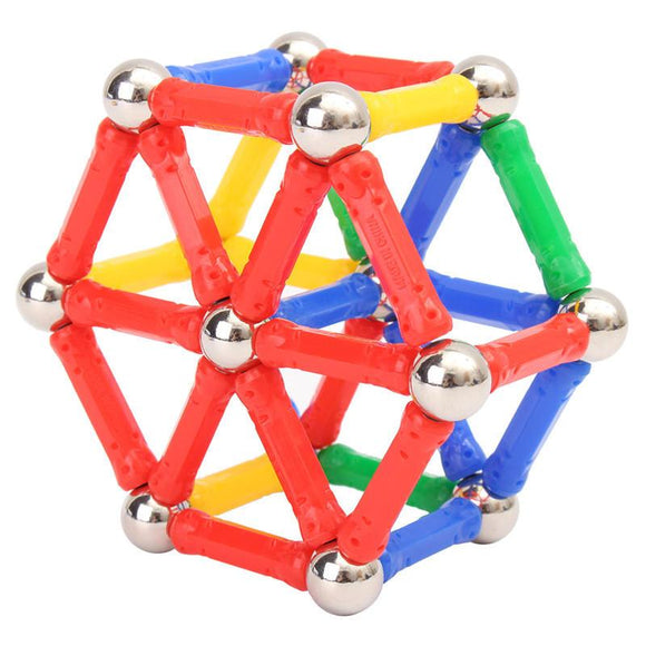 Magnetic Building Sticks Educational Puzzle Toys for Adults and Children