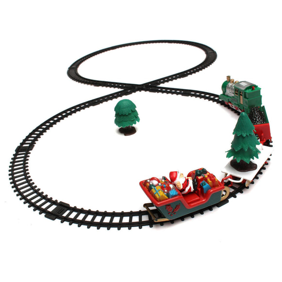 20 Piece Christmas Musical Light Tracks Train Set