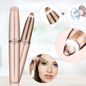 Women Portable Electric Eyebrow Pen Hair Tailoring Tool Shaver