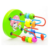 Wooden Beads Wire Maze Educational Game Toy