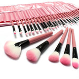 32 pcs Professional Makeup Cosmetic Brush Set - Pink