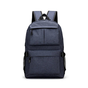 Anti Theft Multi functional Business Laptop Backpack with USB Port Shockproof Water Resistant Bag