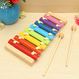 Wooden Musical Xylophone Piano Instrument For Children