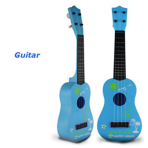 Kids Simulation Guitar Educational Toys 4 String Acoustic Developmental Musical Instruments