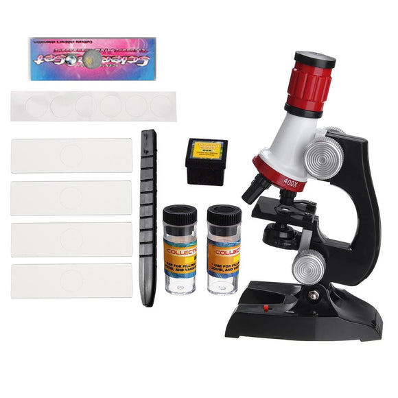 Microscope Monocular Science Lab Educational Kids Toy