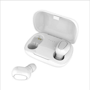 Wireless Stereo Bluetooth 5.0 HiFi Binaural Call Earbuds Earphone with Charging Box