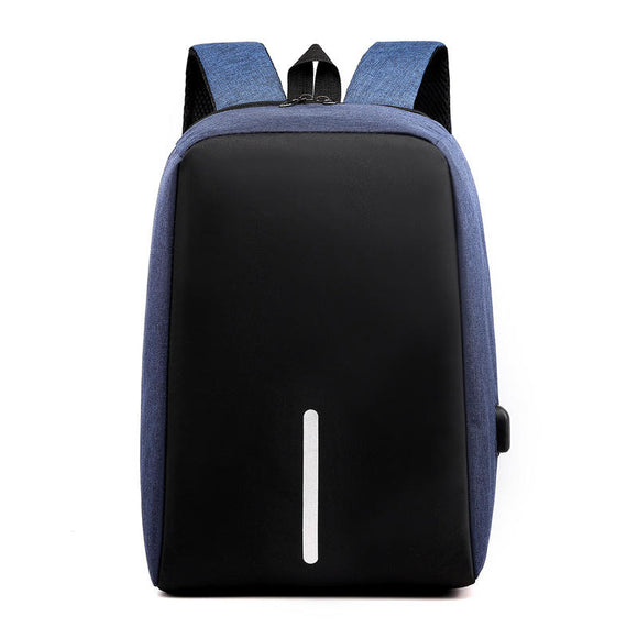 Water Resistant Business Laptop Bag Multi functional Backpack with USB Port Anti Theft Shockproof