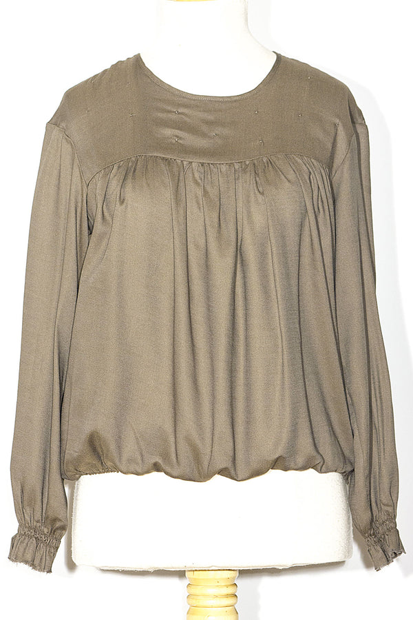 Blusa con Increspature