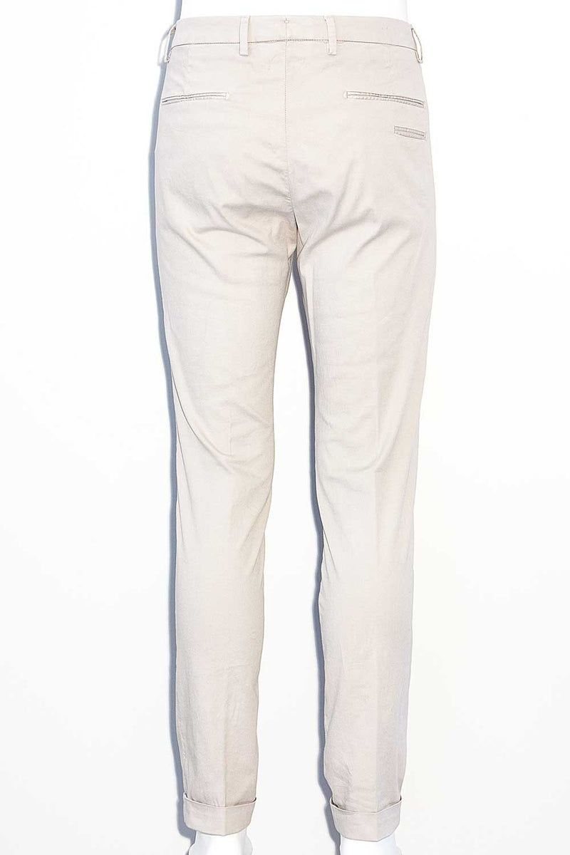 Pantalone in Micro Oxford