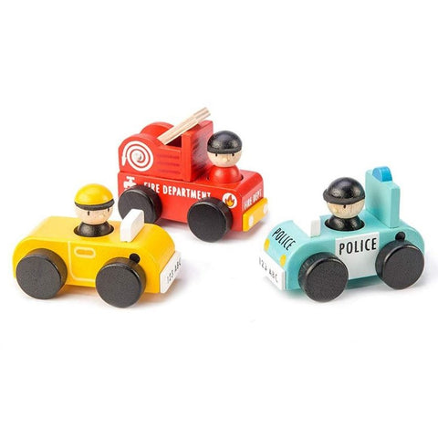 Emergency Wooden Vehicles