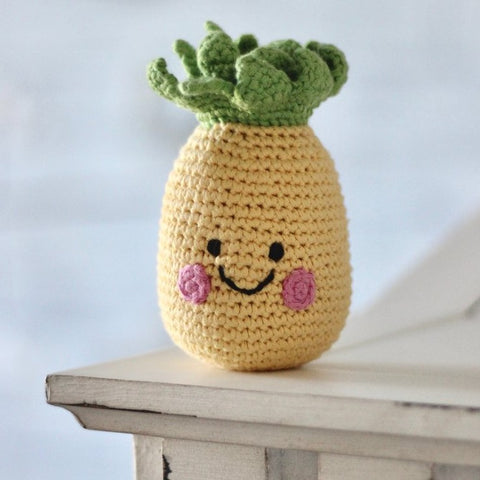 Friendly Pineapple Rattle