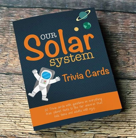 Our Solar System Trivia Cards