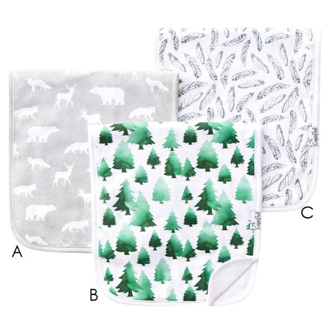 Burp Cloth, Woodland