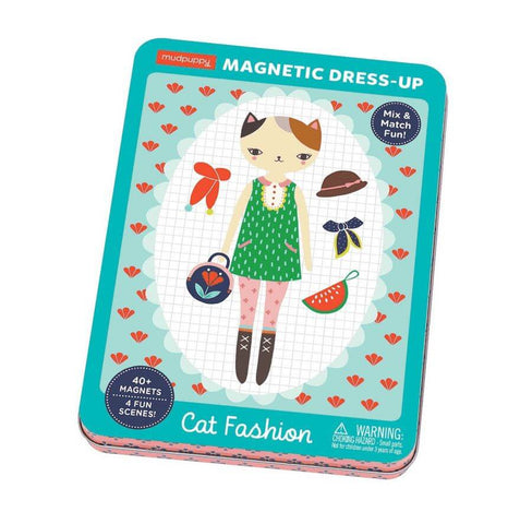 Magnetic Tin: Cat Fashion