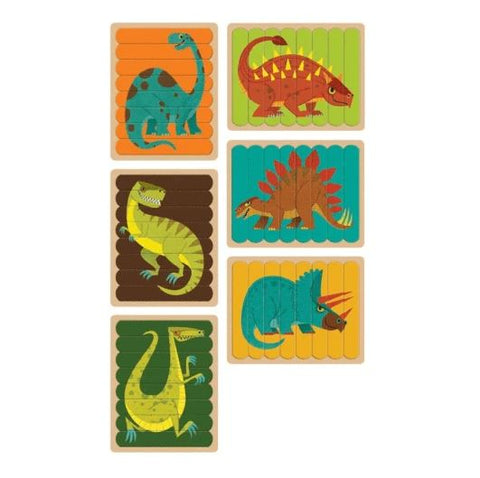 Puzzle Sticks: Mighty Dinosaurs