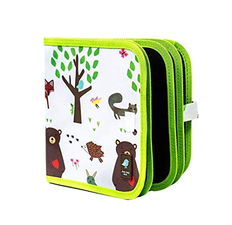 Doodle It & Go Erasable Book: Forest