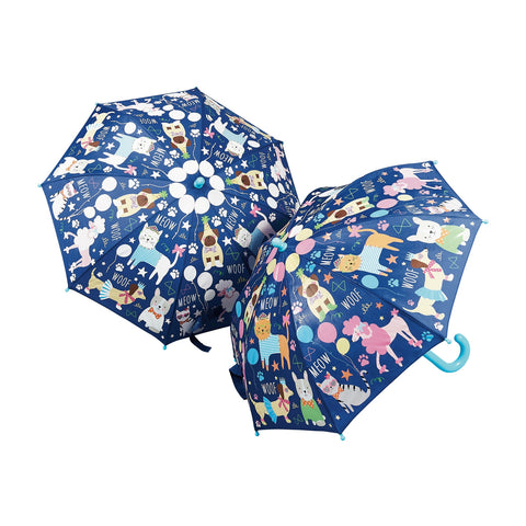 Color Changing Umbrella: Pets