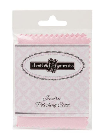 Jewelry Polishing Cloth - Pink