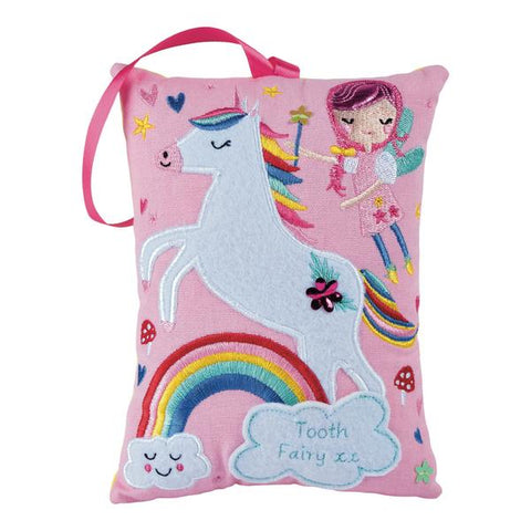 Tooth Fairy Cushion - Rainbow Fairy