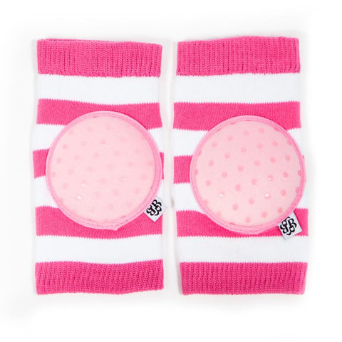 Happy Knees: Rugby Row Pink