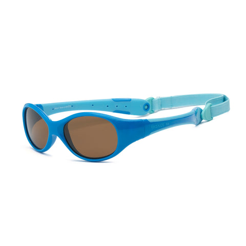Real Shades Explorer Sunglasses for Babies - Ages 0+, Blue/Light Blue