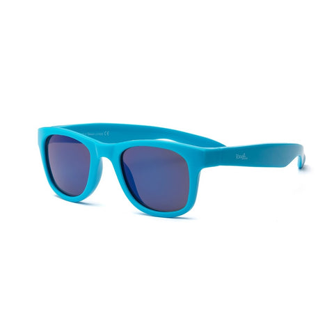 Real Shades Surf Flexible Frame Sunglasses for Kids 4+, Neon Blue