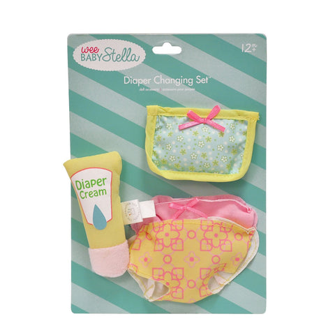Wee Baby Stella Diaper Changing Set