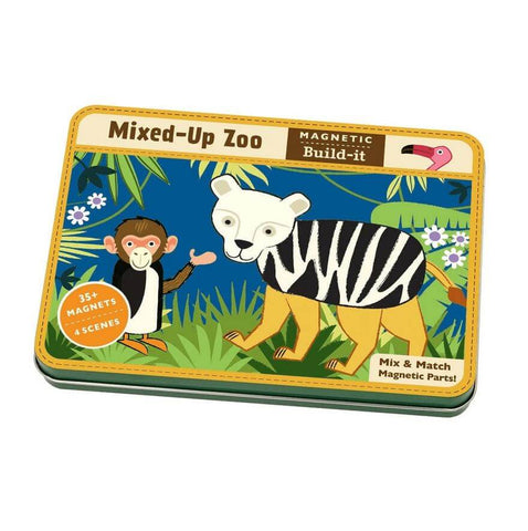 Magnetic Tin: Mixed-Up Zoo