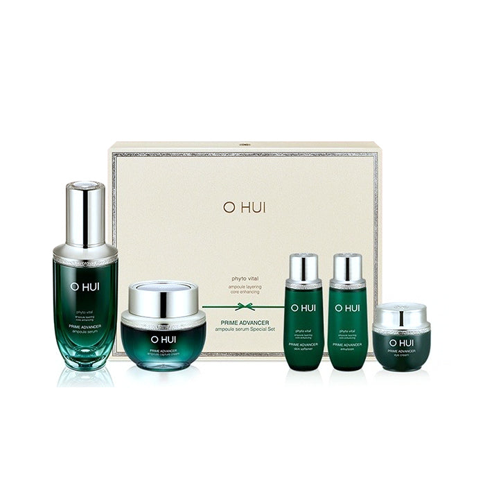 O HUI Prime Advancer Ampoule Serum 2pc Set ($246 Value)