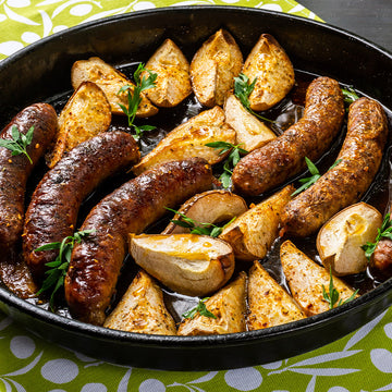 Lamb, Honey, Mint & Rosemary Sausages -  GF