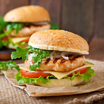 Chicken Meat Pattie (Smaller 100gm Pattie)