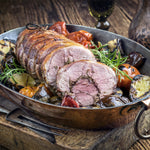 Stuffed Lamb Rolled Shoulder